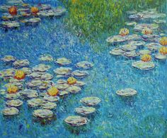 Waterlilies at Giverny (1908) by Claude Monet