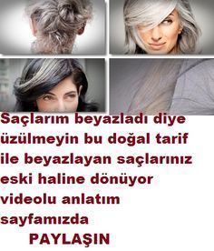 Sağlık Hair whitening is quite normal in later years, of course, but sometimes this situation seems to be hereditary at a young age, and we have to dy. Wavy Hair Care, Blonde Hair Care, Hair Care Oil, Cabello Color Chocolate, Natural Hair Conditioner, Diy Beauté, Hair Protein, Hair Rinse, Natural Haircare