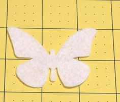 50 Pcs.White Felt Butterflies for Wax Dipping,DIY Scentsy Independent Consultant,100 Pcs. Die Cut Felt Butterflies