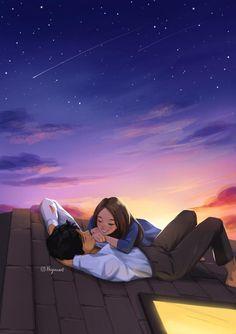 Couples Anime, Romantic Anime Couples, Cute Couples, Cute Couple Drawings, Cute Couple Cartoon, Anime Couple Romantique, Photos Couple Mignon, Desenhos Love, Love Wallpapers Romantic