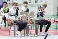 """BTS at 2016 """"Idol Star Athletics Championships"""" Chuseok Special part 10 [160829]"""