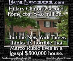Liberal Hypocrisy…