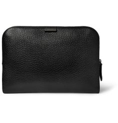 Burberry Shoes & Accessories - Textured-Leather Document Holder|MR PORTER