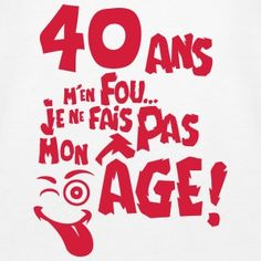Sweat-shirts Anniversaire 50 Ans à commander en ligne Happy Birthday Me, 40th Birthday, Birthday Wishes, Hbd To Me, Funny Christmas Cards, French Quotes, Me Quotes, Positivity, Invitations
