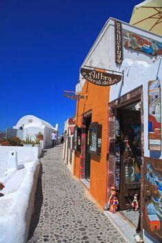 Aithra Gallery, Oia, Santorini