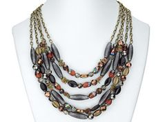necklace would look good with just about any outfit, especially with Teal shirt, jeans, to make this outfit pop.