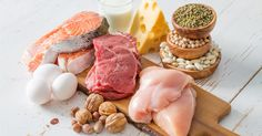 Beef vs chicken vs fish: which has more protein? Protein is critical to a healthy diet and weight loss. All lean meats are a healthy source of protein, but not all proteins are created equal! Good Protein Foods, Best Protein, Protein Diets, High Protein Recipes, No Carb Diets, Protein Power, Plant Protein, Protein Sources, Healthy Protein