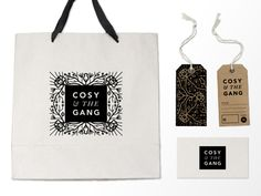 Cosy And The Gang Branding