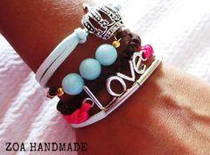 New offer of handmade bracelets by ZOA HANDMADE in www.fantazijashop.com