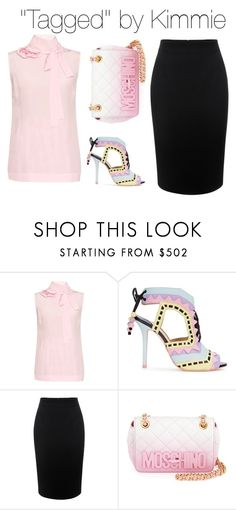 """""""Untitled #273"""" by taggedbykimmie15 on Polyvore featuring Rochas, Sophia Webster, Alexander McQueen, Moschino, women's clothing, women, female, woman, misses and juniors"""
