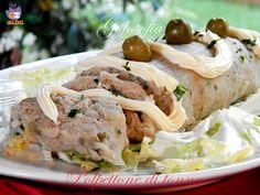 Polpettone di tonno, fantastico secondo piatto da gustare freddo durante l'estate. Un'idea fresca e golosa!