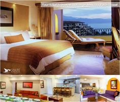 享受我们套房的班德拉斯湾美丽的风景。我们周到地设计宾馆的套房为了给你与家人理想休息的地方
