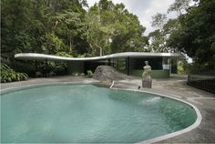 Here Are Some Pictures (courtesy Of Weyerdk) Of Oscar Niemeyeru0027s Casa Das  Canoas In Rio De Janeiro, Built In 1953 And Which Used To Be His Own House.