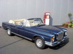 Mercedes-Benz 280SE Cabriolet Mercedes Benz Coupe, Mercedes Sport, Old Mercedes, Classic Mercedes, Daimler Ag, Daimler Benz, Convertible, Automobile, Mercedez Benz