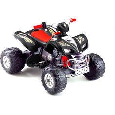 The Monster TRAX Big Wheel 12V ATV Available at Sam s