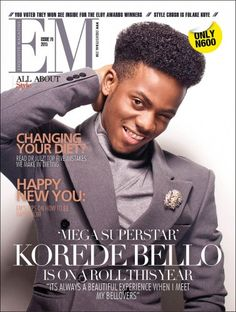 Our new issue features MAVIN's African prince - Korede Bello - available in stores near you soon.