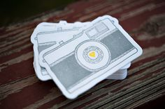 Melissa Copeland Photography Letterpress Business Card by Jupiter and Juno