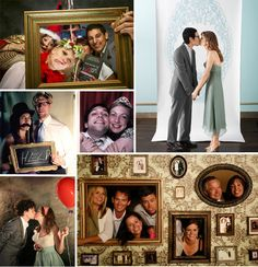 Animation de mariage : le photobooth