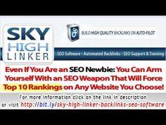 Sky High Linker - 50,000+ Backlinks SEO Software - http://www.highpa20s.com/link-building/sky-high-linker-50000-backlinks-seo-software/