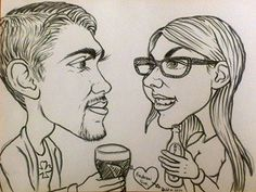 Win Three Hours of Andrew Goti Caricatures at Your Wedding Reception - http://www.competitions.ie/competition/win-three-hours-andrew-goti-caricatures-wedding-reception/