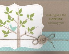 Blue Bird Birthday by LauriBColeman - Cards and Paper Crafts at Splitcoaststampers