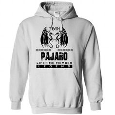 Team PAJARO Lifetime Member Legend - #personalized hoodies #sweatshirt design. MORE INFO  => https://www.sunfrog.com/Automotive/Team-PAJARO-Lifetime-Member-Legend-pllalbibdq-White-35413089-Hoodie.html?id=60505