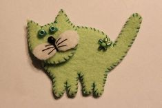 Cute Handmade Felt Decorations, 25 Simple and Eco Friendly Craft Ideas