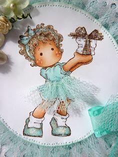 Jane's Lovely Cards.  Cute idea for the skirt