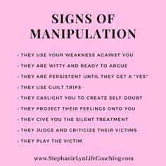 The worst part of being manipulated in a relationship is that quite often you don't even know it's happening. Here are a few ways you can recognize manipulation. Narcissist And Empath, Narcissistic People, Narcissistic Behavior, Narcissistic Abuse Recovery, Narcissistic Personality Disorder, Narcissistic Sociopath, Empathy Quotes, Abuse Quotes, Wisdom Quotes