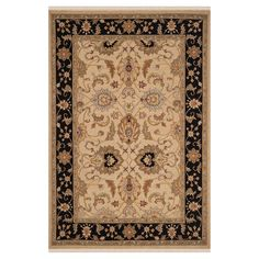 Light Gold/Black Abstract Loomed Area Rug - (10'X14') - Safavieh, Black Gold
