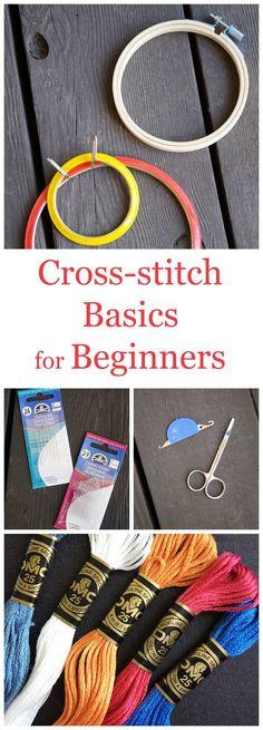 Cross-stitch Basics for Beginners | Storypiece.net