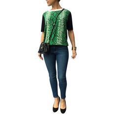 Have you seen what we have?  Sandro Snakeskin ... : http://timpanys.com/products/sandro-snakeskin-print-blouse-front-knit?utm_campaign=social_autopilot&utm_source=pin&utm_medium=pin