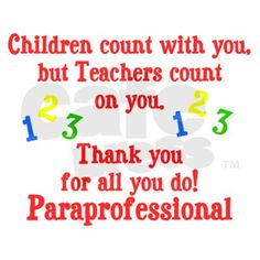 Paraprofessional Appreciation Day Poems | just b.CAUSE