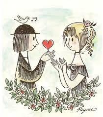 les amoureux de Peynet -