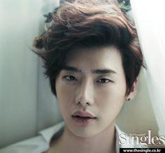 Lee Jong Suk for SINGLES
