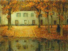 Gustav Klimt, (Austria, 1862-1918) Bauernhaus in Kammer am Attersee