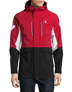 Mens Closing Ceremony Softshell Jacket | Hudson's Bay Hudson Bay, Softshell, Hooded Jacket, Athletic, Mens Fashion, Christmas 2017, Zip, Jackets, Jacket