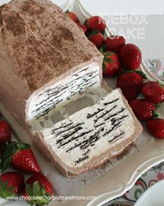 IceBox Cake  3 cups heavy whipping cream  1/3 cup powdered sugar (more or less to taste)  1 teaspoon vanilla extract  1 package thin chocolate wafer cookies  Cool Whip Chocolate Frosting