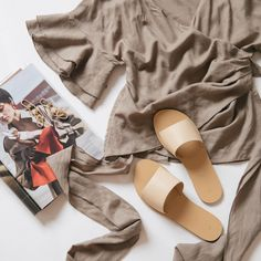Crete Slide - Nude Women Clothing Stores Online, Online Shopping Shoes, Online Fashion Boutique, Fashion Online, Latest Shoes, Crete, Shoe Shop, Your Shoes, Trendy Outfits