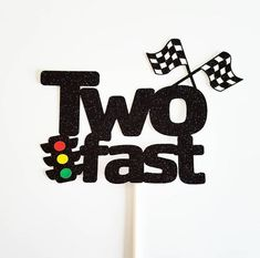 2nd Birthday Party For Boys, Race Car Birthday, Race Car Party, Second Birthday Ideas, Cars Birthday Parties, Car Themed Birthday Party, Birthday Banners, Birthday Stuff, Car Cake Toppers