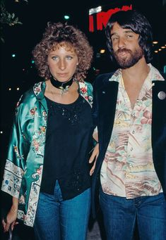 ©BAUER-GRIFFIN Barara Streisand and John Peters after an audition at the Warner Brothers Studios in Burbank. Peters was producing a martial arts movie. Job: 70306J1 March 06, 2007 **STOCK Burbank, California (IMAGE CIRCA 1974-1975)** www.bauer-griffin.com