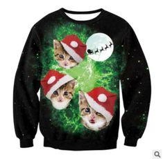 2018 UGLY CHRISTMAS SWEATER Vacation Santa Elf Funny Womens Men Sweaters  Gogoboi Unisex Men Women Tops Autumn Winter Clothing 0033995f88ca