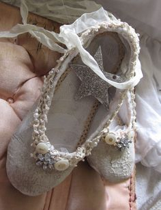 painted ballet shoes...sweet