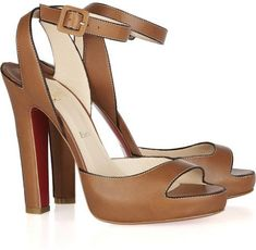 Christian Louboutin Leather Sandals