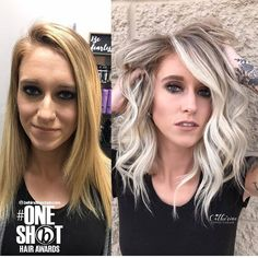 Learn to recreate Catherine's signature balayage style, online education and in-person training available. She may be a color addict - meet the balayage queen. Platinum Blonde Highlights, Balayage Blond, Blonde Hair, Medium Hair Styles, Curly Hair Styles, Shot Hair Styles, Hair Transformation, Ginger Hair, Great Hair