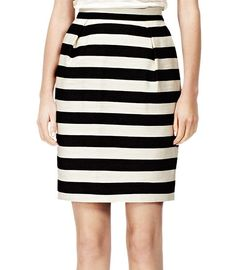 Because a girl's gotta have stripes for Spring (this skirt screams luncheon to us!)