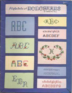 Gallery.ru / Фото #1 - Alphabets and Monograms - logopedd