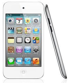 White iPod touch. Dream gadget for now.