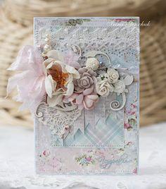 Блог Scrapberry's: Вдохновение со Scrapberry's - нежные открытки - коллекция Розы