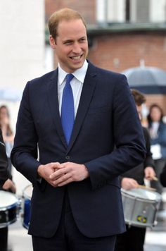 4 June - Prince William, Duke of Cambridge during his visit to Goole High School to launch the new SkillForce Junior Prince's Award 2014 in Yorkshire, England